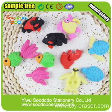 Animal 3D Puzzle 2014 Ocean animal erasers For Fun